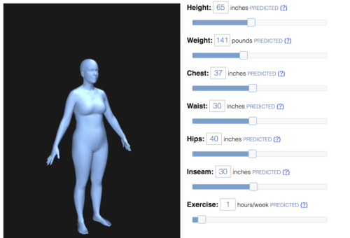 Body Shape Visualizer