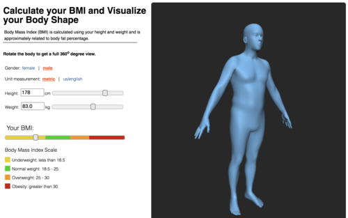 BMI Visualizer