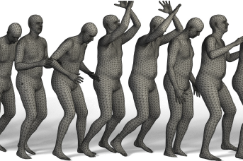 Towards Accurate Marker-less Human Shape and Pose Estimation over Time
