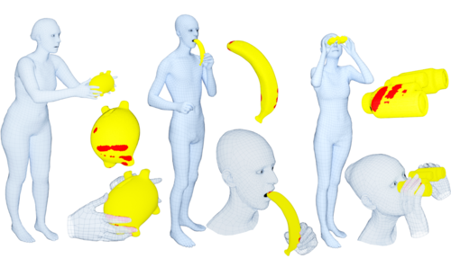 GRAB: A Dataset of Whole-Body Human Grasping of Objects