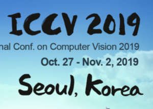 Ten papers accepted at ICCV 2019