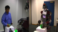 Grasp Recognition and Mapping on Humanoid Robots