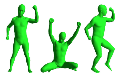 Home {3D} body scans from noisy image and range data