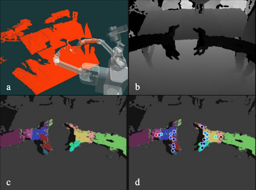 Robot Arm Pose Estimation through Pixel-Wise Part Classification