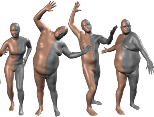 SMPL: A skinned multi-person linear body model