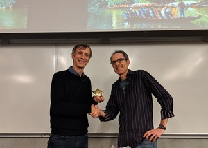 Michael Black receives UBC Computer Science Department Alumni Research Award 2018