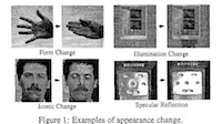 A framework for modeling appearance change in image sequences