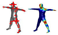 Metric Regression Forests for Human Pose Estimation